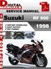 Thumbnail Suzuki RF 900 1998 Factory Service Repair Manual Pdf