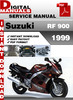 Thumbnail Suzuki RF 900 1999 Factory Service Repair Manual Pdf
