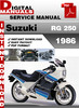 Thumbnail Suzuki RG 250 1986 Factory Service Repair Manual Pdf