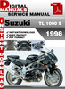 Thumbnail Suzuki TL 1000 S 1998 Factory Service Repair Manual Pdf