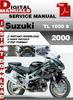 Thumbnail Suzuki TL 1000 S 2000 Factory Service Repair Manual Pdf
