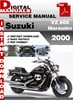 Thumbnail Suzuki VZ 800 Marauder 2000 Factory Service Repair Manual Pd