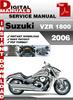Thumbnail Suzuki VZR 1800 2006 Factory Service Repair Manual Pdf