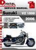 Thumbnail Suzuki VZ 1500 2006 Factory Service Repair Manual Pdf