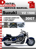 Thumbnail Suzuki VZ 1500 2007 Factory Service Repair Manual Pdf