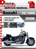 Thumbnail Suzuki VZ 1500 2008 Factory Service Repair Manual Pdf