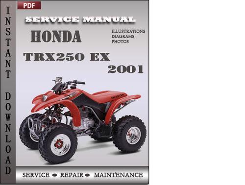 honda trx250 ex 2001 service repair manual download honda trx350 manual shift honda trx250x manual download 1987-88