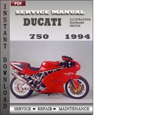 Pay for Ducati 750 1994 Service Repair Manual Download