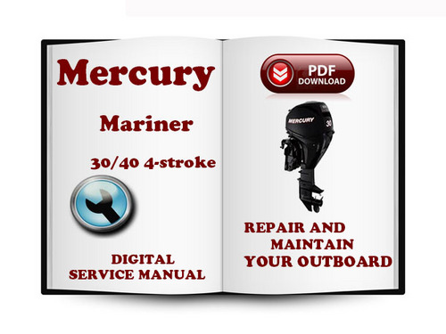 Mercury mariner 30 hp 2cyl 2-stroke factory service repair manual -.