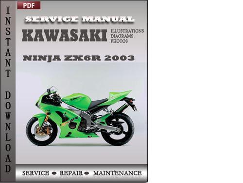 Kawasaki Ninja Zx6r 2003 Service Repair Manual Download Download