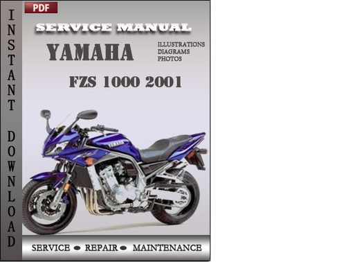 Yamaha fzs 1000 2001 service repair manual download for Yamaha rx v1600 manual