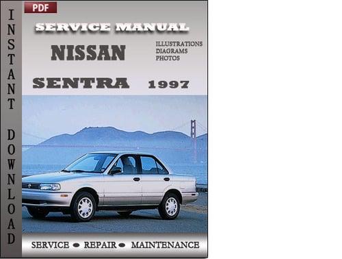 service manual  service and repair manuals 1997 nissan
