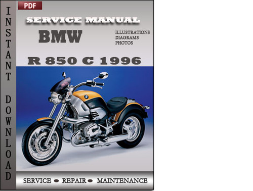 bmw r 850 c 1996 service repair manual download download. Black Bedroom Furniture Sets. Home Design Ideas
