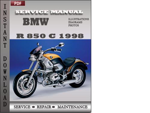 bmw r 850 c 1998 service repair manual download manuals. Black Bedroom Furniture Sets. Home Design Ideas