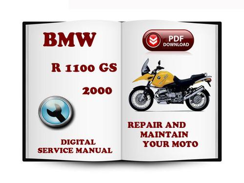 Free BMW R 1100 GS 2000 Service Repair Manual Download Download thumbnail