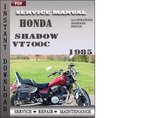 honda shadow vt700c 1985 service repair manual download download 1986 honda shadow 500 manual pdf 1986 honda shadow 700 manual