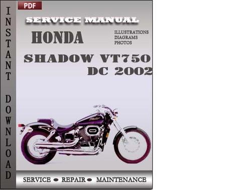 2015 Honda Shadow Ace 750 Repair Manual