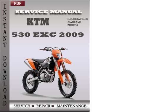 ktm 530 exc 2009 service repair manual download download manuals rh tradebit com KTM 450 Lowering Link KTM 530 On Numbers