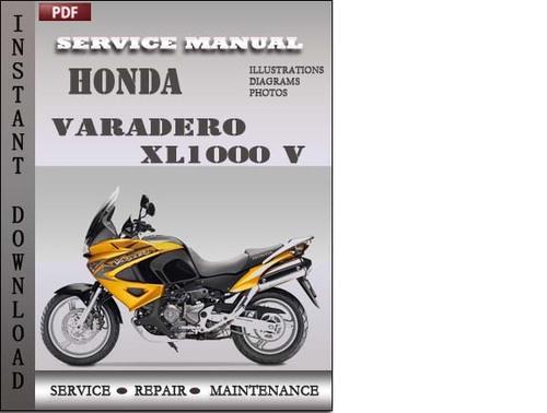 Pay for Honda Varadero XL1000 V Service Repair Manual Download