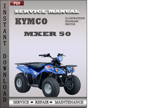 kymco mxer 50 factory service repair manual download