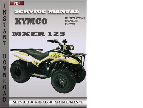 kymco mx er 125 150 atv service repair workshop manual download