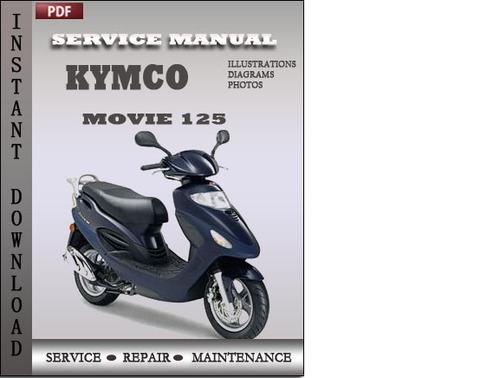 kymco movie 125 150 workshop service manual repair