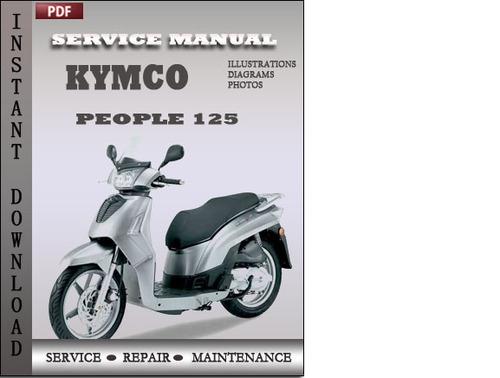 kymco people 125 service repair manual download