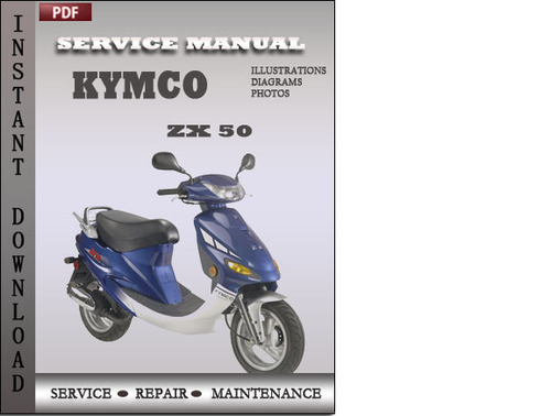 kymco zx 50 factory service repair manual download