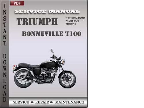 triumph bonneville t100 service repair manual download download m rh tradebit com Triumph Bonneville Green 2004 triumph bonneville service manual