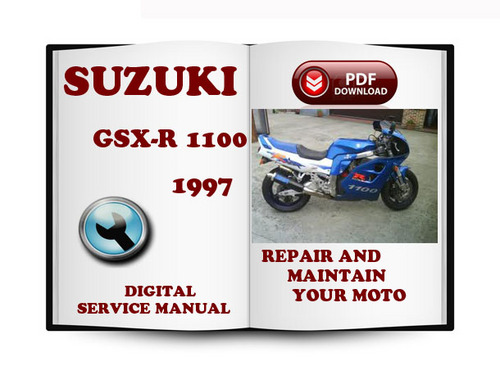 Pay for Suzuki GSX-R1100 1997 Service Repair Manual Download