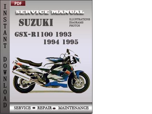 Free Suzuki Gsx R1100 1997 Service Repair Manual Download border=