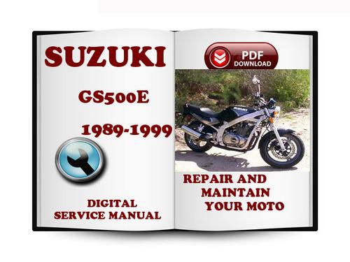 1996 Suzuki Gs500e