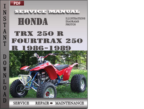 Free Honda FourTrax TRX 125 (1985 to 1986) repair manual ...