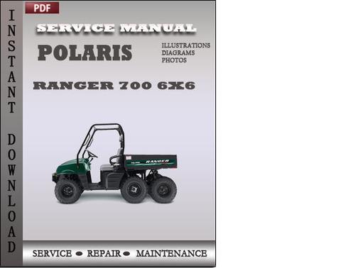 polaris ranger 700 6x6 service repair manual download. Black Bedroom Furniture Sets. Home Design Ideas