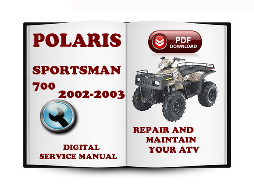 polaris sportsman 700 2002 2003 service repair manual