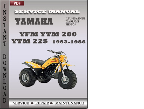 Yamaha Yfm Ytm 200 Ytm 225 1983