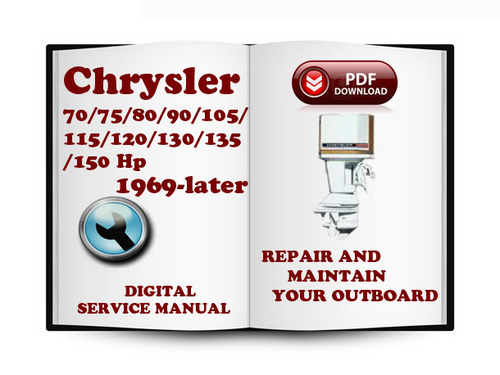 chrysler outboard 70 75 80 90 105 115 120 130 135 150 hp 1969 lat rh tradebit com Old Chrysler Outboard Chrysler Outboard Motor Parts