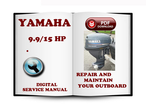 yamaha outboard 9 9 15 hp service repair manual download