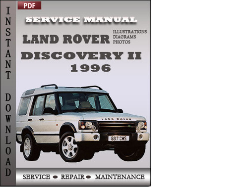land rover discovery 2 1996 service repair manual download manual rh tradebit com land rover discovery 2 parts manual pdf land rover discovery 2 td5 workshop manual