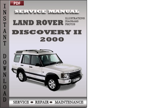 Pay for Land Rover Discovery 2 2000 Service Repair Manual