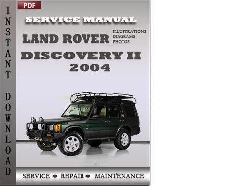 land rover discovery 2 2004 service repair manual download manual rh tradebit com 2003 Land Rover Discovery Manual 2001 Land Rover Discovery Manual