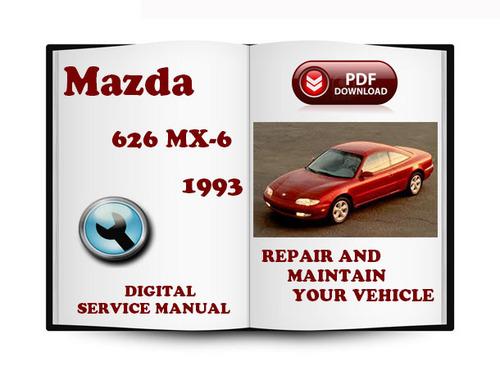 mazda 626 mx 6 1993 service repair manual download. Black Bedroom Furniture Sets. Home Design Ideas