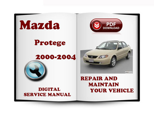 mazda protege 2000 2004 service repair manual download manuals a rh tradebit com 2000 Mazda Protege DX mazda protege 2000 shop manual