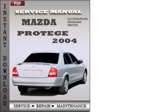 2000 Mazda Protege Repair Manual - Ultimate Mazda