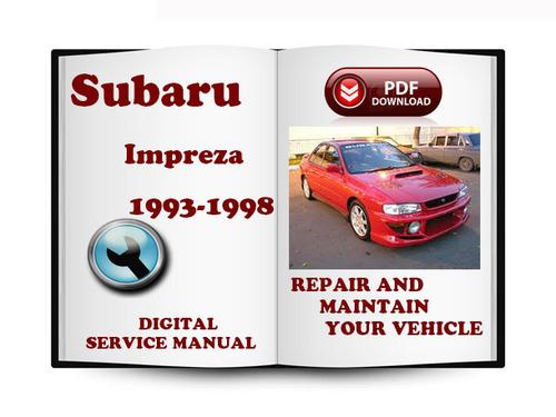 subaru impreza 1993 1996 service repair manual download. Black Bedroom Furniture Sets. Home Design Ideas