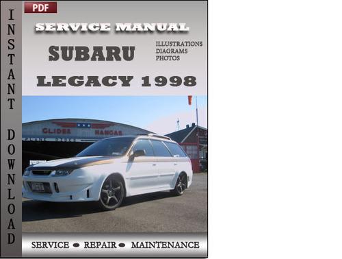 subaru legacy 1998 service repair manual download. Black Bedroom Furniture Sets. Home Design Ideas