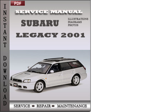 subaru legacy 2001 service repair manual download manuals t rh tradebit com 2001 Subaru Legacy Wagon 2001 Legacy Problems