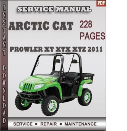 Arctic Cat Prowler  Xtx Service Manual