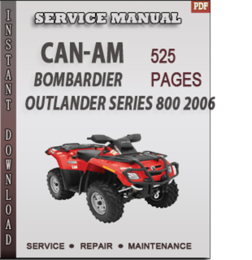 can am outlander 800 service manual pdf