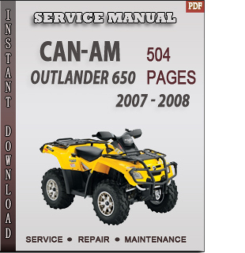Can-am Outlander 650 2007
